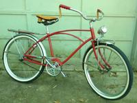 I have numerous bicycles I selected up at an estate