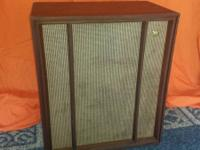 Vintage collectible Wharfedale W70 Speaker.  All