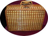 I have for sale a nice wicker picnic basket. Has