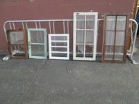 Several Vintage Windows Available:  * 6 Pane - $40  * 5