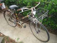 This is a old Sears and roebuck bicycle from around the