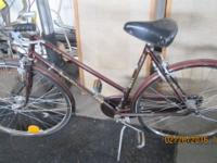 Vintage 1970s Puch Rugby Sports woman bicycle is really