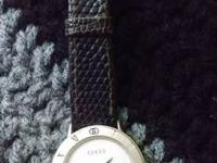I have a Vintage Gucci females's wrist watch for sale.