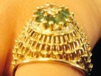 I have a Antique womens high mound ring from the late
