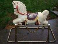 Vintage Wonder Horse in very good condition. I have