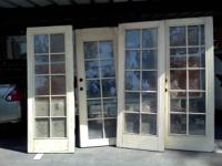 I have a set of double doors that are wood with glass