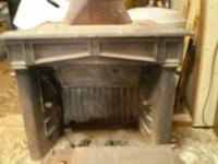 Vintage working free standing wood burning Franklin