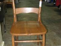 "Vintage Lumber Chair - 4. 17""w - 1920's - 1 Chair -"
