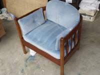 Pretty Cool Vintage, Sturdy, Wood Reading Chair.