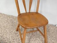Sturdy kitchen, dining, desk chair. Stamped on bottom,