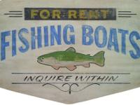 Our vintage reproduction wood signs are all hand