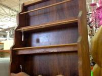 Vintage Wood Spice Rack. $22. Dealership # 282. Lula
