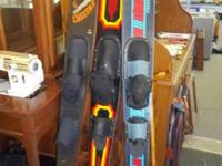 Large volume of water skis available, all in great