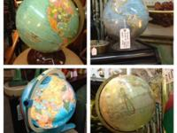 Vintage Globe Globes $32 and up Fisher Price Lighted