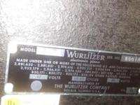 Vintage Wurly Model 200-A. Comes with 4 legs and