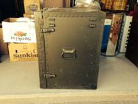 This is a vintage military field desk used in WWII. I
