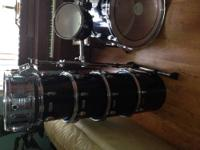 I have a 10-piece Yamaha drum set. I got it around 2
