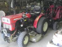 For sale is a 25hp, two cylinder diesel tractor. 3
