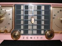 This vintage Zenith radio is model number Z2519-V. The