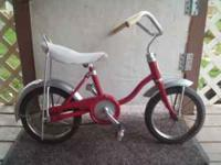 I have a 90% restored Schwinn Lil' Tiger kid's bike to