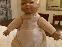 Vintage 1930's Grace Putnam Bye-Lo Baby Doll (RARE).