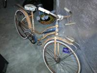 This bike is old from the 50s it would be nice for a