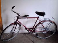 Vintage 1970s Schwinn with new Streetser Tires. The