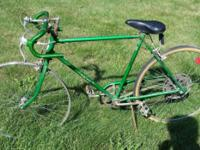 Vintage 1970's Schwinn Collegiate Green Bicycle