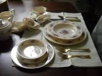 Classic Lenox Rose China Pattern - Mint + Condition,