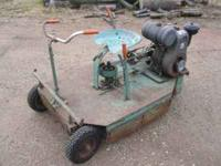 I have a 1950 Big Snapper riding lawn mower in