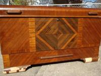 This elegant & spectacular Cedar Chest/Trunk is a LANE