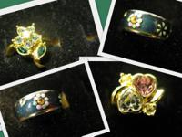 Fashion Rings $6 each or all 3 for $15 All are a size