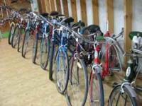 "50% OFF VINTAGE & CLASSIC Bicycle Inventory "" 50% OFF"