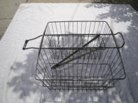 I HAVE A VINTAGE BIG REAR WALD BICYCLE BASKET.STILL IN