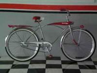 For Sale: Early 1960's chrome bicycle. It's been redone