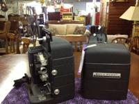 Classic Black Alarm & Howell Projector  This