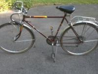 "Vintage Columbia Tourist V Bicycle. Tire size is 26"" x"