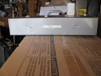 Old craftsman tool box in excellent condition for its