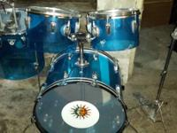 3 vintage drumsets for sale - prices firm cash pick up