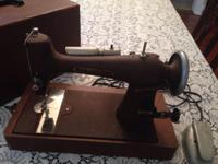 Free-Westinghouse sewing machine model NP 45313 Style