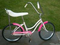 Cool vintage girl's Junior Miss banana bike by Grant