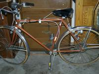 We have a Vintage Hiawatha 10 Speed Bike Bicycle. It is