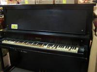 Vintage Hobart M Cable 1922 Cabinet Upright Piano.