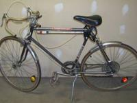 We have a Vintage Huffy Contestant 10 Speed Bicycle