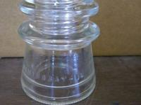 Hemingray 17 Clear Insulators - 41 to choose from $1.00