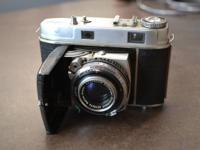 Up for sale is a Vintage Kodak Retina IIc 35mm Camera.