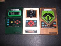 Used Mattel sports games.1 Classic Baseball 1 Classic