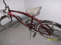 Vintage mens Columbia Speedliner bike from probably the