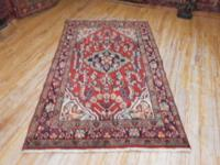 # 54778 4' 2 x 6' 9 pure wool hand knotted in Iran