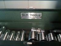 "Original SK 22pc. 3/8"" Fractional set from the"